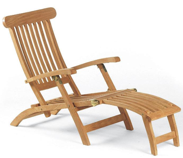 sonnenpartner deckchair manhattan 80050093 teak holz art jardin. Black Bedroom Furniture Sets. Home Design Ideas