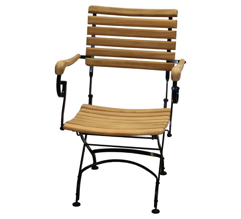 Zebra Sessel Florence 2219-S Teak Gartenmöbel klappbar- ArtJardin