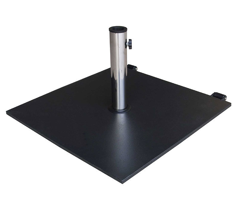 zebra schirmfu steel 40kg 4916 schirmst nder rollen artjardin. Black Bedroom Furniture Sets. Home Design Ideas