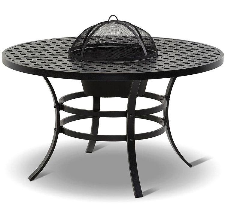 hartman tisch jamie oliver 130rund gartentisch alugu art jardin. Black Bedroom Furniture Sets. Home Design Ideas