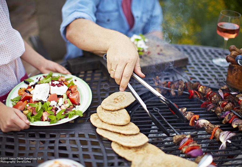 Hartman Tisch Jamie Oliver 130rund Gartentisch Aluguss Art Jardin