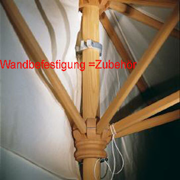 weish upl wandbefestigung f halbschirm 1 5x3 zubeh r art jardin. Black Bedroom Furniture Sets. Home Design Ideas