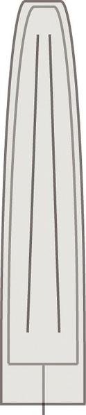 Zebra Sonnenschirm Schutzhulle 3 5m 6102 Grau 190x58cm Artjardin