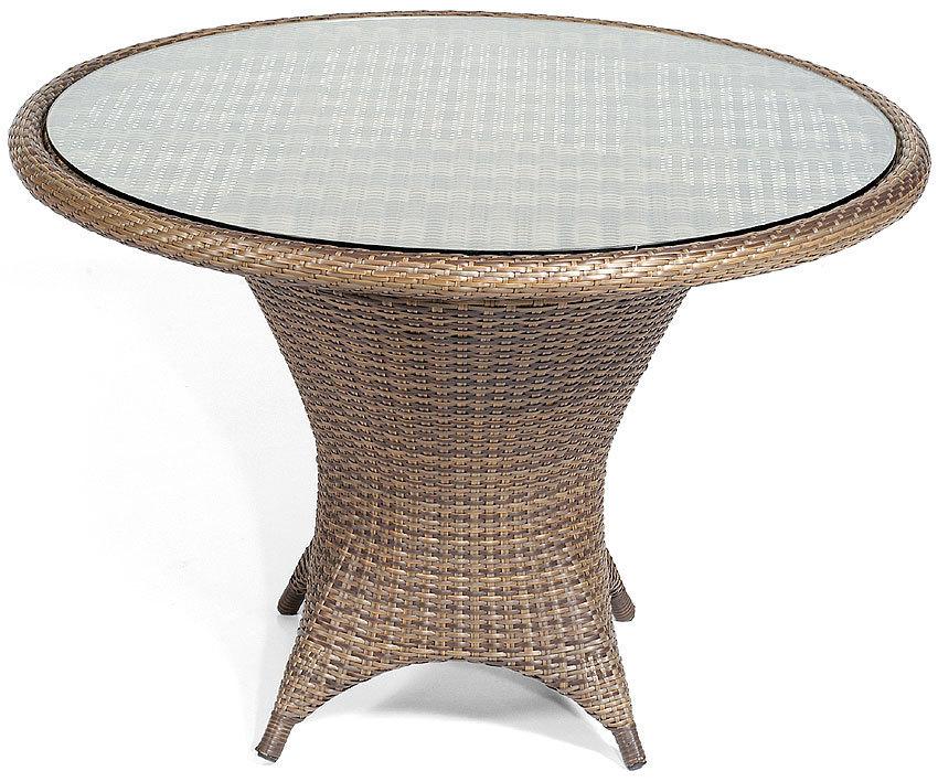 Sonnenpartner Tisch 90cm Bonaire Esstisch Polyrattan Art Jardin
