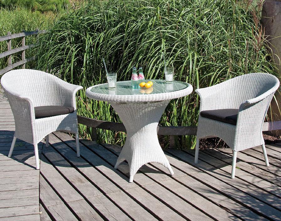sonnenpartner tisch 110cm bonaire esstisch polyrattan art jardin. Black Bedroom Furniture Sets. Home Design Ideas