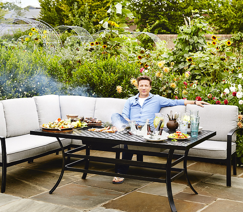 Hartman 3tlg Alu Corner Lounge Jamie Oliver Gartensofa Artjardin