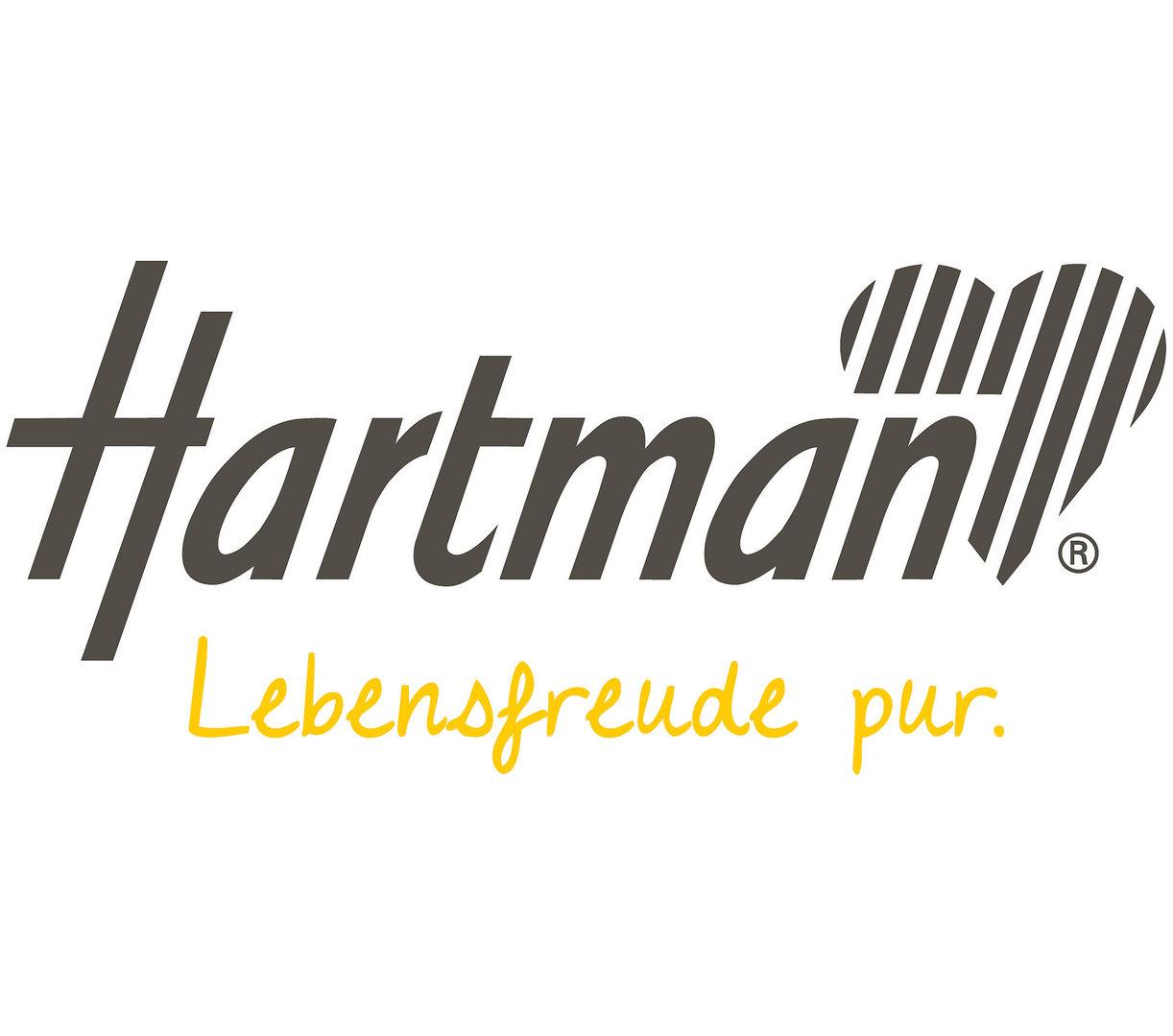 Hartman Tisch rund 120cm South Wales Alu FSC Teakholz- Art Jardin