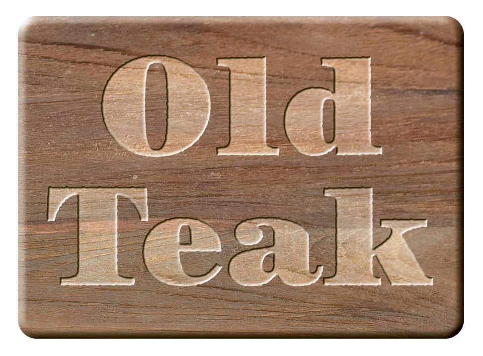 Zebra Tisch 160x90cm Recyceltes Teak Holz Oskar 5305 Esstisch Old Teakholz Gartentisch Massivholz