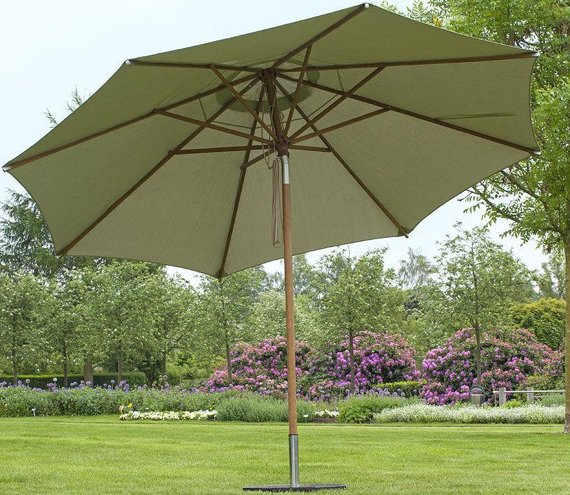 zebra 3tlg set rumba olive schirm 3 5m fu h lle art jardin. Black Bedroom Furniture Sets. Home Design Ideas