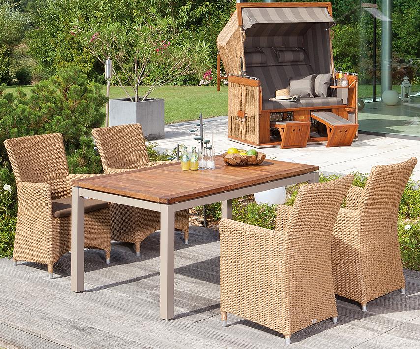 sonnenpartner sessel ikarus alu polyrattan in4farben artjardin. Black Bedroom Furniture Sets. Home Design Ideas
